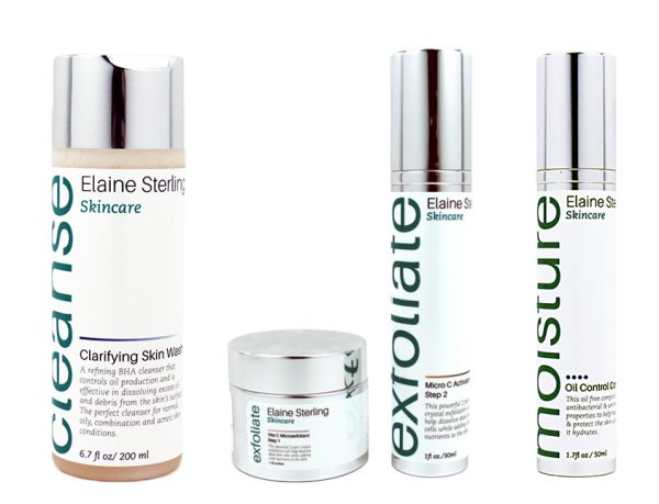 Elaine Sterling Skincare Acne Collection
