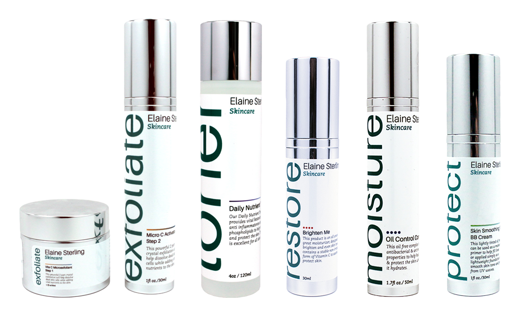 Elaine Sterling Skincare Combination Collection