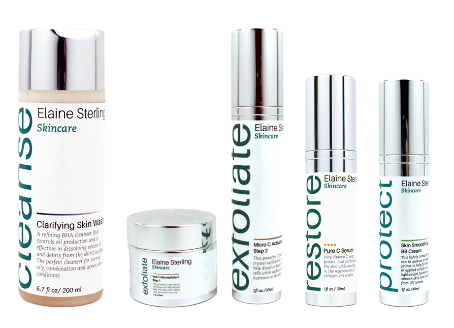 Elaine Sterling Skincare Oily Collection