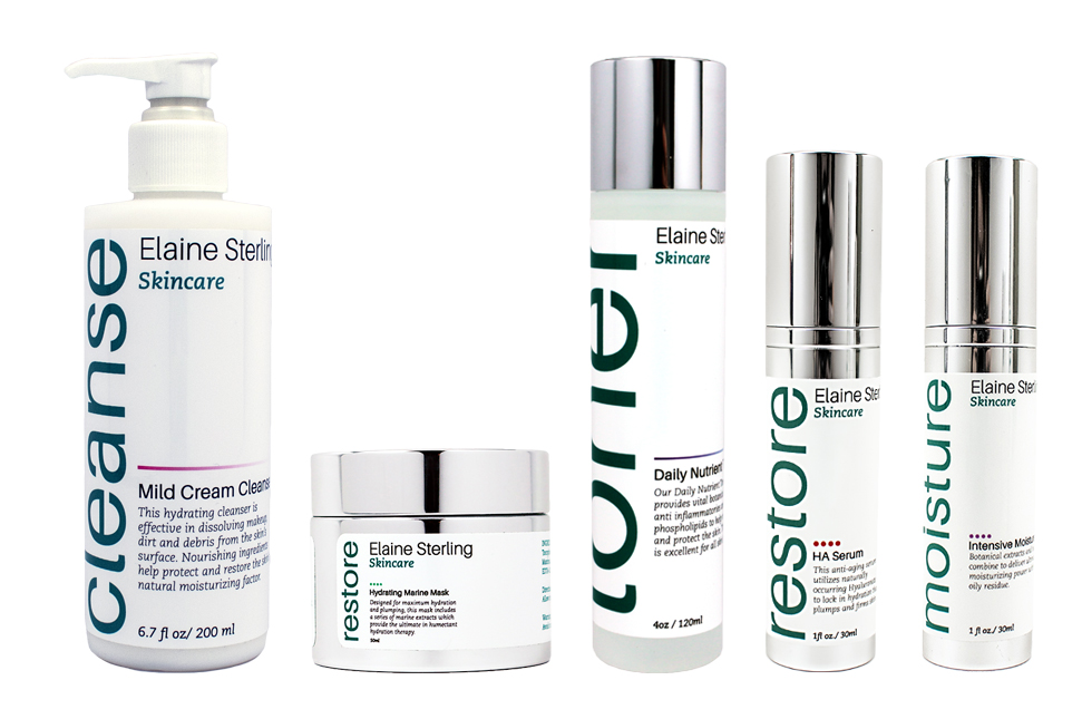 Elaine Sterling Skincare Dry Collection